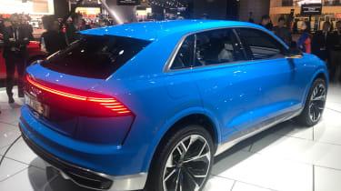 Audi Q8 concept - show side/rear