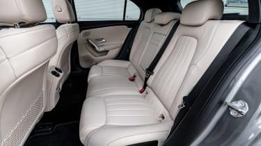 Mercedes A-Class - rear seats