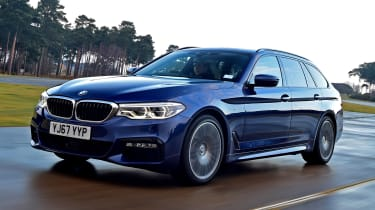 BMW 5 Series Touring - front