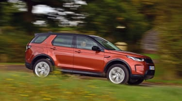 Land Rover Discovery Sport D180 first report - side