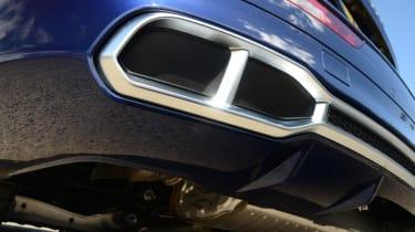 Audi SQ5 - exhaust