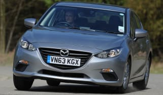 Mazda 3 front view