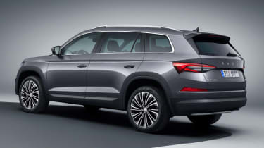 Skoda Kodiaq facelift - rear studio