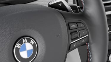 BMW M5 interior detail