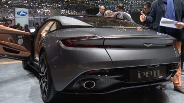 Aston Martin DB11 - Geneva show rear