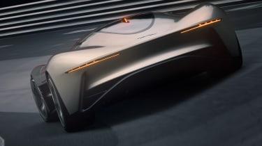 Jaguar Vision GT concept - rear action
