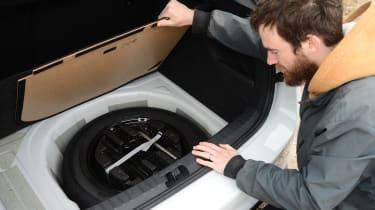 Skoda Scala - long termer rear wheel