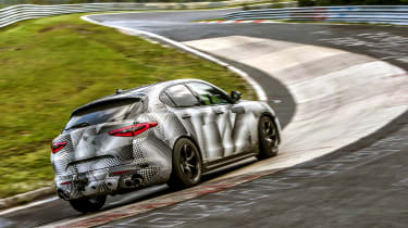 Alfa Romeo Stelvio Nurburgring 12