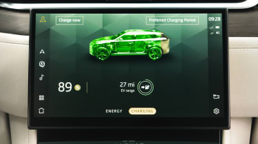 Jaguar F-Pace PHEV - infotainment