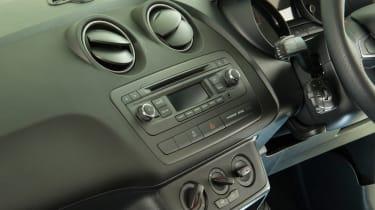 SEAT Ibiza used - centre console