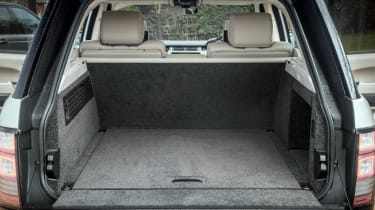 Used Range Rover - boot