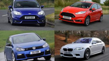 Best cheap hot hatches and performance cars