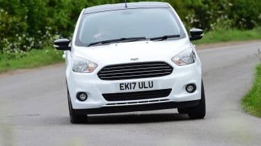 Ford Ka+ White Edition - front cornering