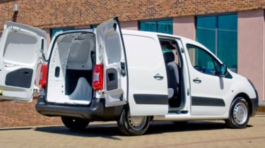 Citroen Berlingo - doors open