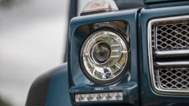 Mercedes-Maybach G 650 Landaulet - front light detail