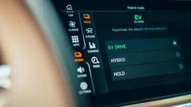 Bentley Flying Spur Hybrid - infotainment
