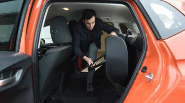 Honda Jazz long-term second report - rear seats