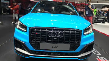Audi SQ2 - Paris full front