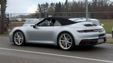 New Porsche 911 Cabriolet - spyshot 6