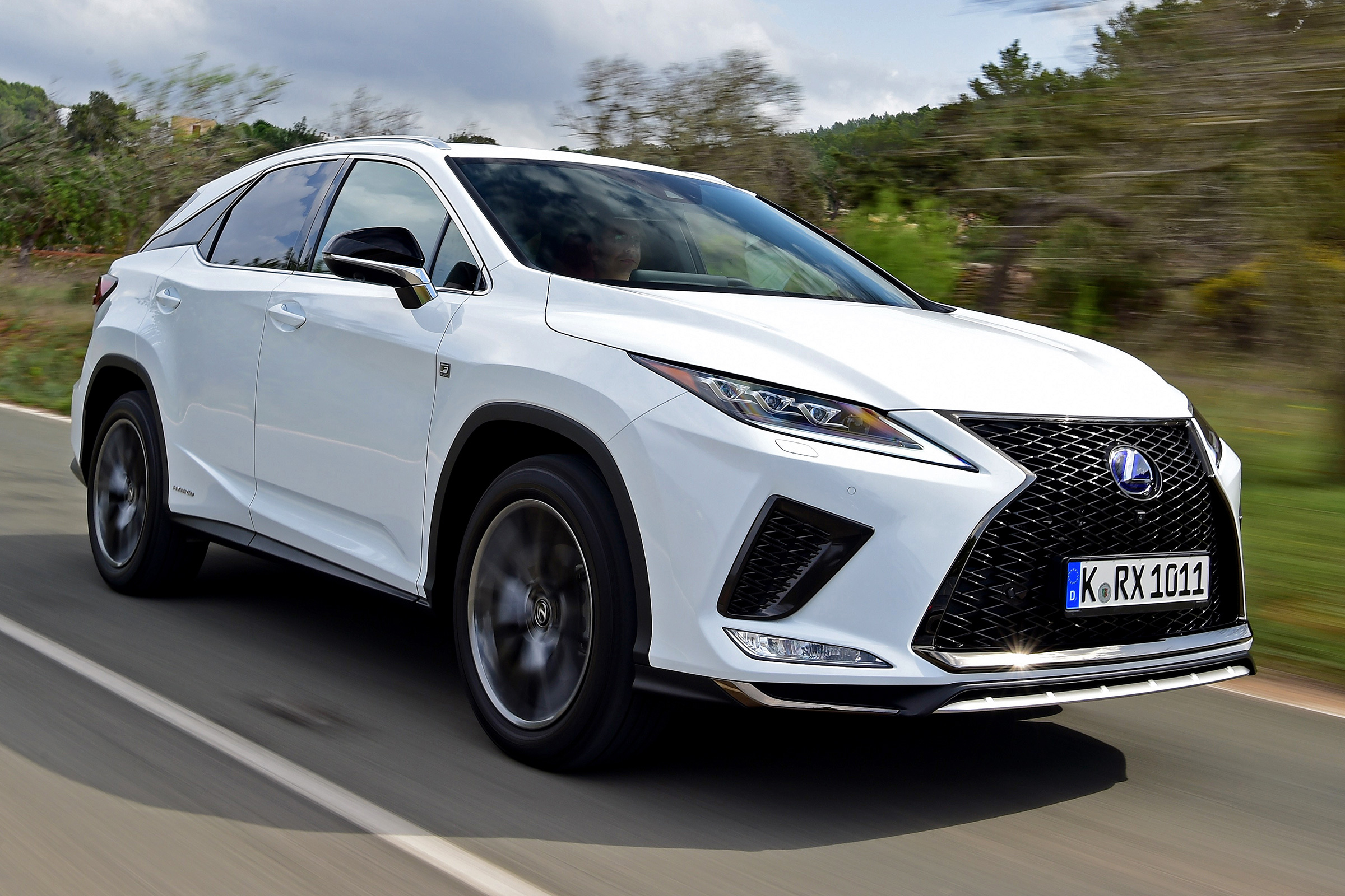 New Lexus Rx 450h F Sport 2019 Review Auto Express