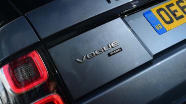 Range Rover P400 - badge