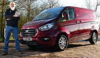 Ford Transit Custom PHEV long termer third report - header