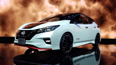 Nissan Leaf Nismo - Tokyo front