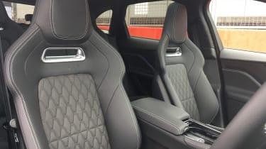 Jaguar F-Pace SVR - front seats