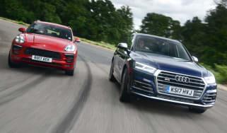 Porsche Macan GTS vs Audi SQ5 - head to head teaser