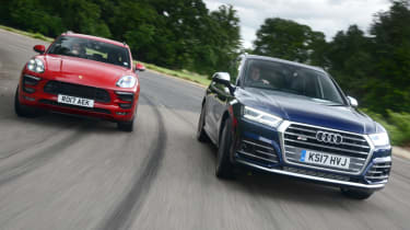 Porsche Macan GTS vs Audi SQ5 - head to head teaser
