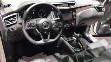 Facelifted Nissan Qashqai show - dash