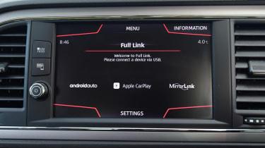 SEAT Leon ST - infotainment