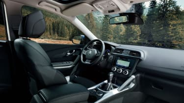Renault Kadjar facelift - interior