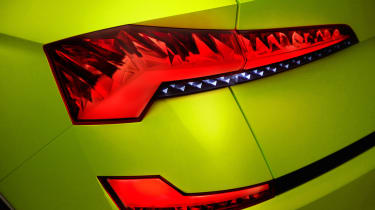Skoda Vision X concept - rear light