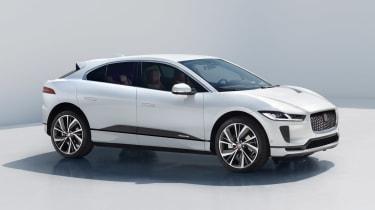 Jaguar I-Pace - front white