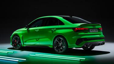 Audi RS 3 Saloon - rear studio