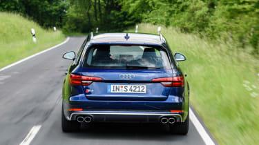 Audi S4 Avant 2016 - rear