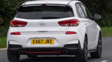 Hyundai i30 N - rear white