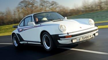 Porsche 911 Turbo classic front