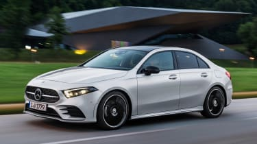 Mercedes A-Class Saloon - front twilight