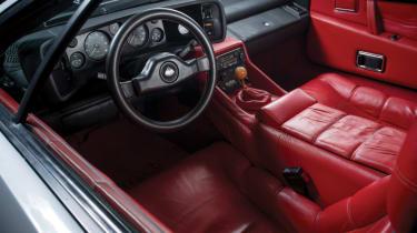 Cool cars: the top 10 coolest cars - Lotus Esprit interior