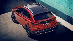 Volkswagen Nivus - rear above