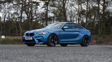 BMW M2 group - front three quarter