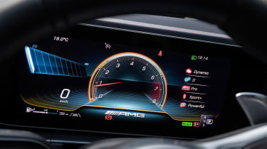 Mercedes-AMG GLE 53 Coupe - dials