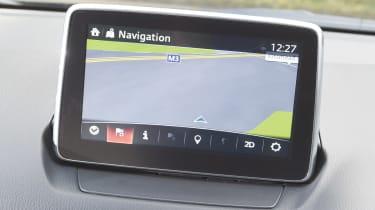 Mazda MZD CONNECT - screen
