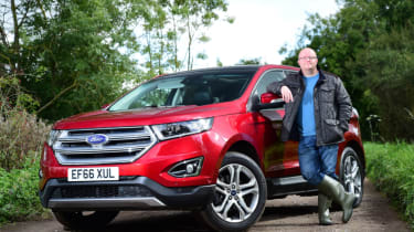 Ford Edge long term - third report header