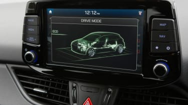Hyundai i30 N - screen