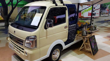 Suzuki Carry Open Air Market Concept front