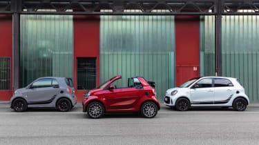 Smart EQ Cabrio - parking