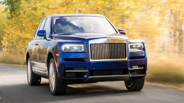 Rolls-Royce Cullinan - front tracking